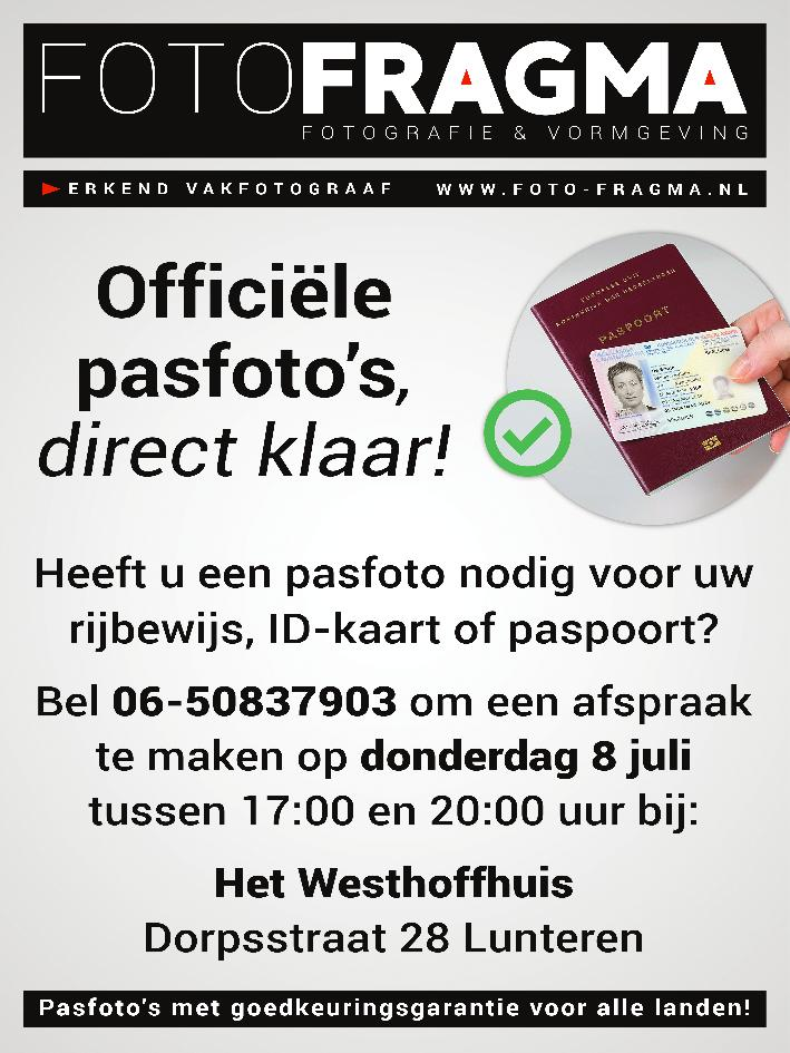 Pasfoto's maken